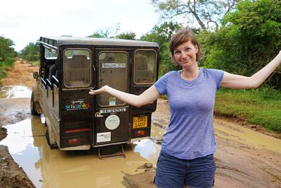 Yala Nationalpark Safari Panne