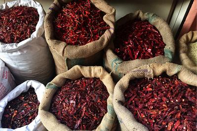 Indien Essen Chilis