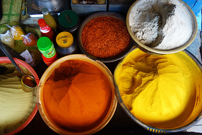 Indien Essen Gewürze