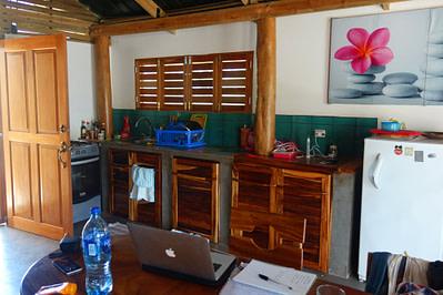 Playa Maderas Hütte Küche