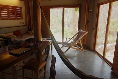 Playa Maderas Hütte Wohnzimmer