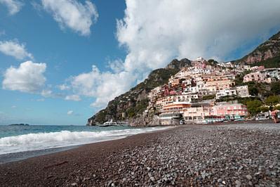 Amalfiküste Positano Strand & Stadt III