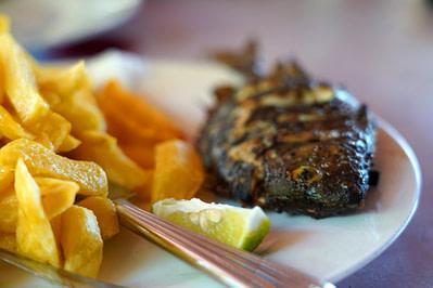Bongoyo Essen Fisch