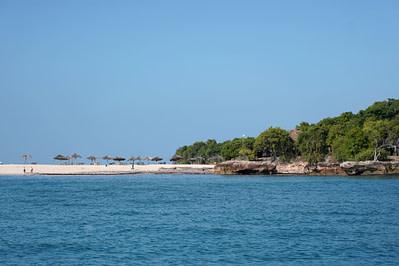 Bongoyo Insel vom Meer