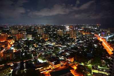 Dar Es Salam by Night