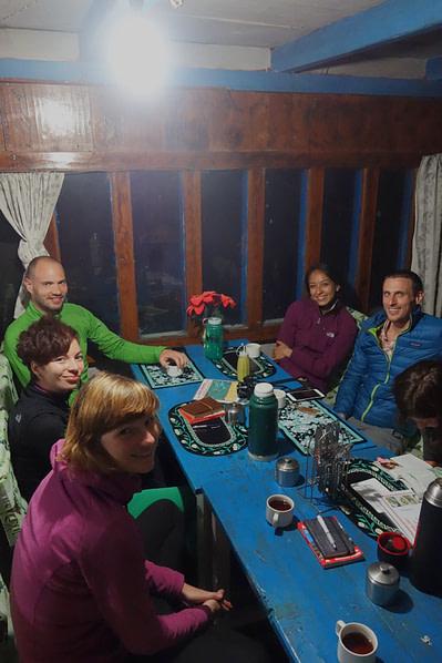 Annapurna Circuit Lodge Gemeinschaftsraum