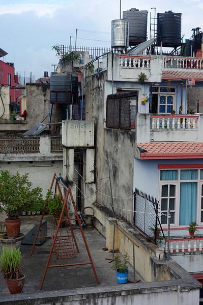 Kathmandu Blick vom Hotel