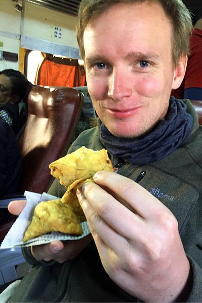 Indien Essen Samosa Matthias