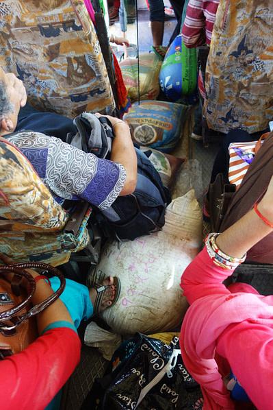 Nepal Transport local Bus Reissäcke