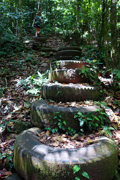 Selva Negra Wanderweg Reifen