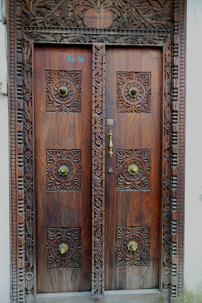 Sansibar Tür