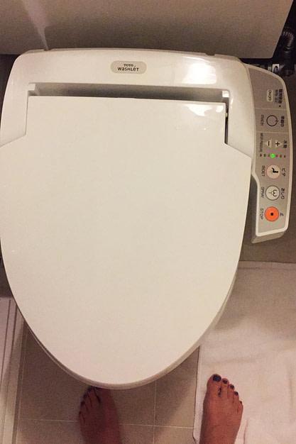 Japan Reisetipps Toilette