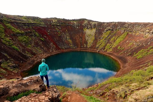 Golden Circle Kerid Krater