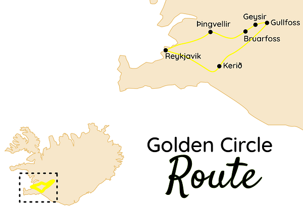 Island Golden Circle Route