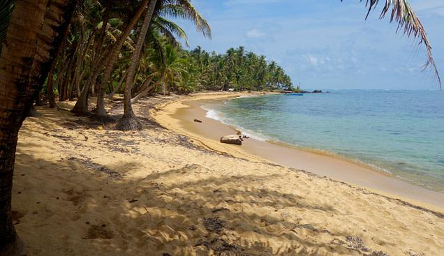 Karibik Nicaragua verlassener Strand