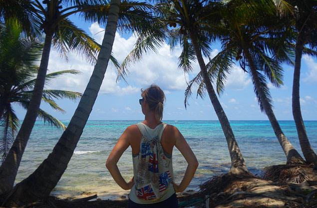 Karibik Palmen Meer Nicaragua