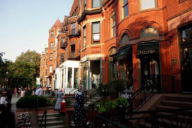 Boston Newbury Street