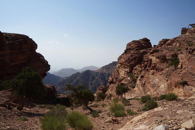 Petra Aussichtspunkt Monastery