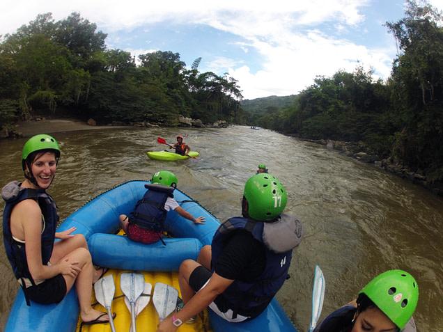 San Gil Rafting Boot