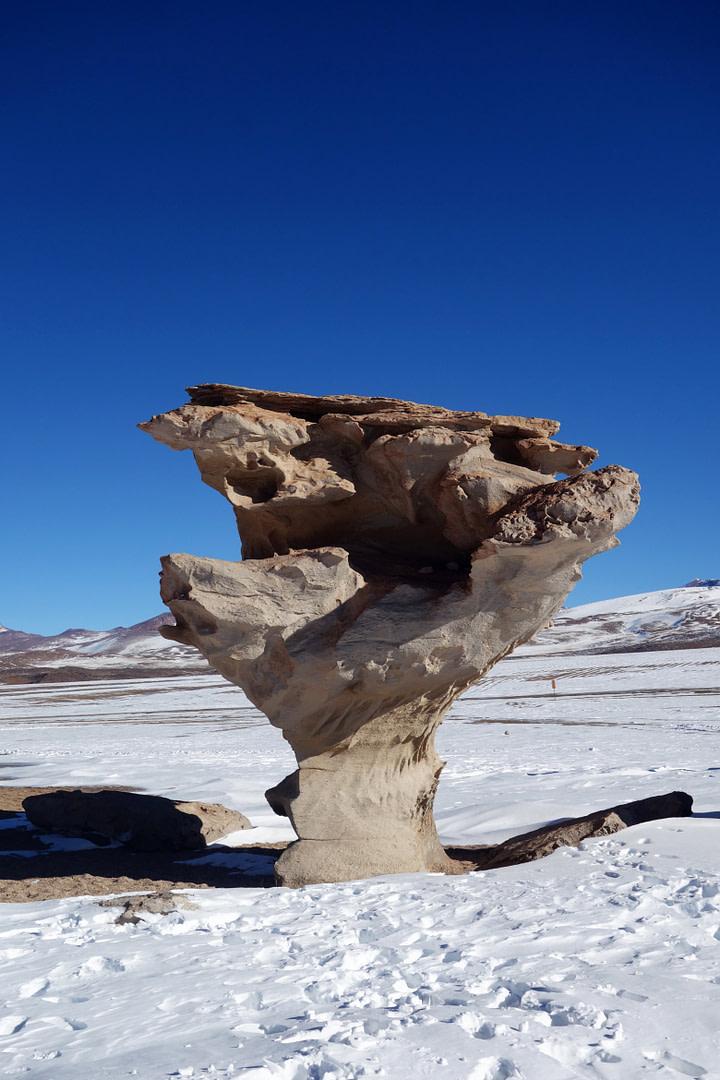Salar de Uyuni Arbol de Piedra