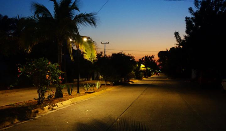 Puerto Escondido Morgenstimmung