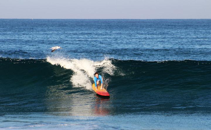 Puerto Escondido Surfen Franzi