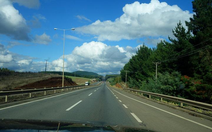 Chile Roadtrip Straße