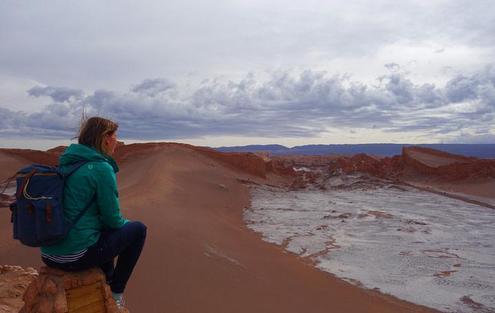 Atacamawüste Duna Major Salz Franzi