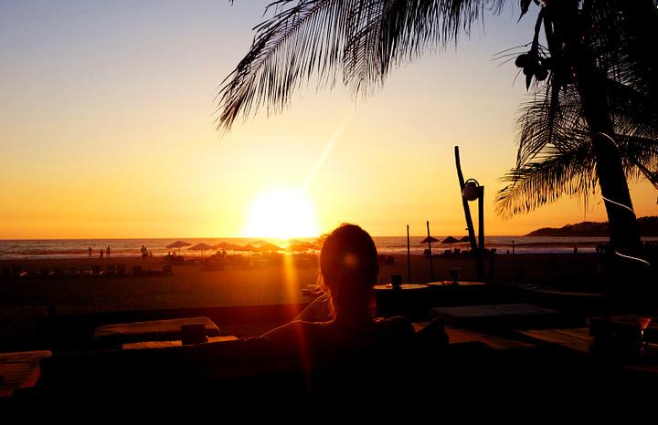 Puerto Escondido Zicatela Sunset