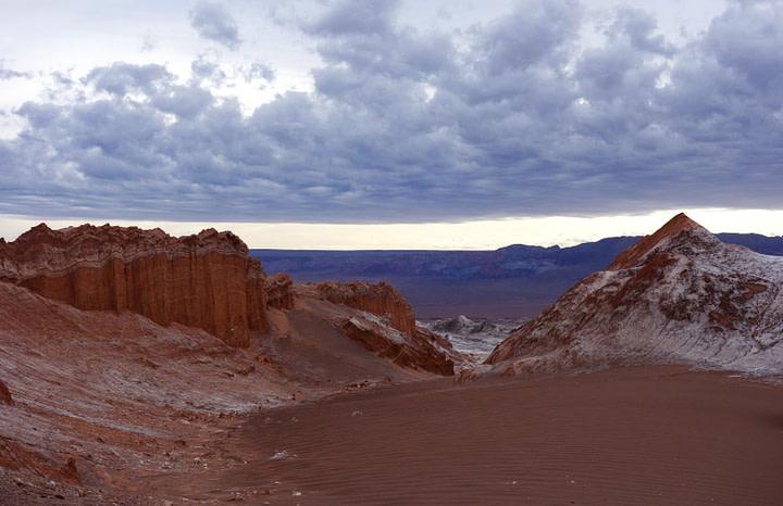 Atacamawüste Mirador Amphiteatro