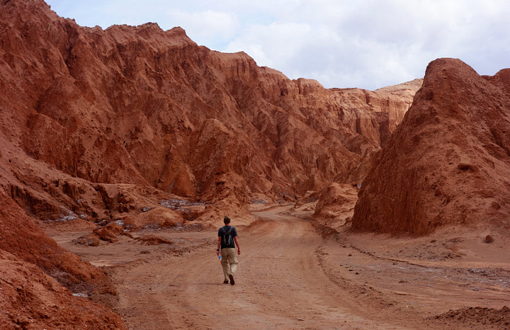 Atacamawüste Valle de la Muerte Matthias