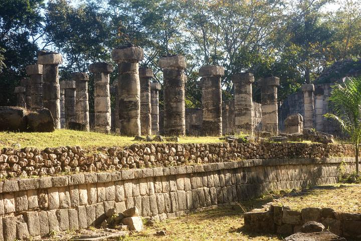Chichen Itza Columnata Norte