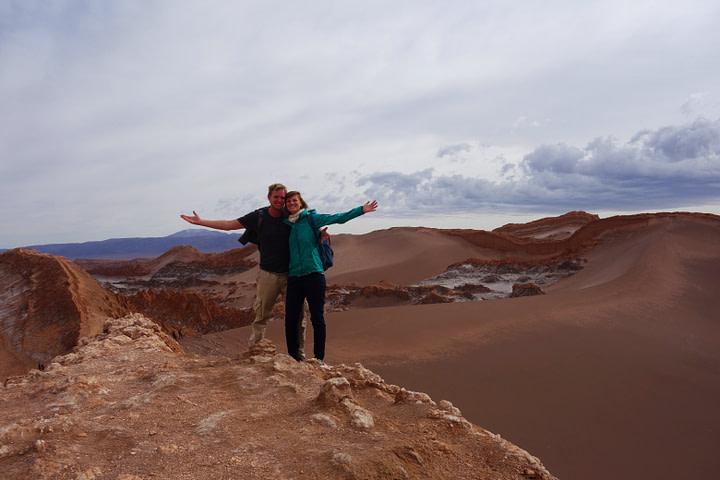 Atacamawüste Duna Major Paar