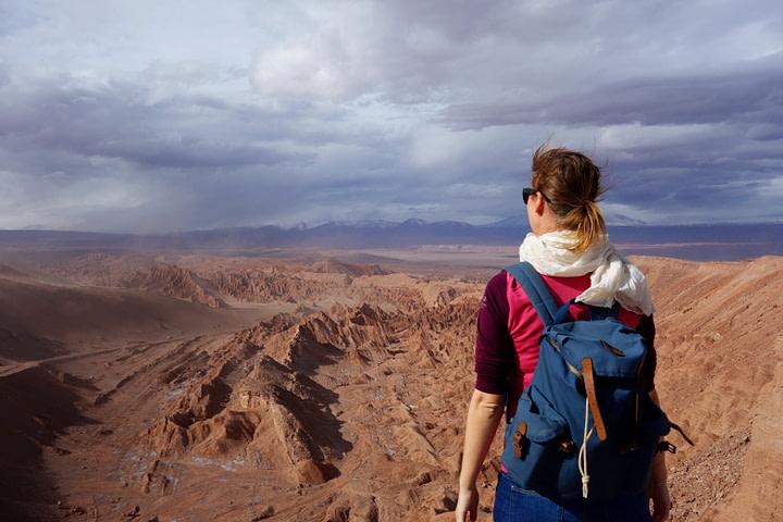 Atacamawüste Valle de la Muerte Franzi