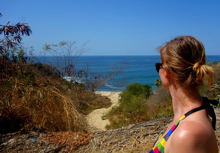 Puerto Escondido Playa Coral Franzi