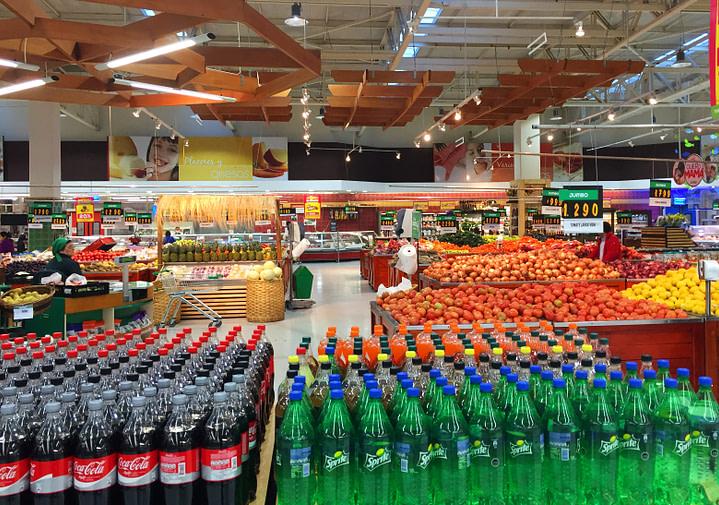 Chile Supermarkt Kulturschock