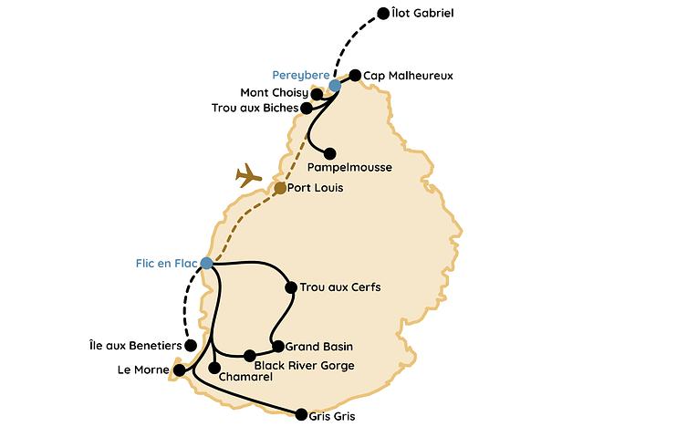 Mauritius Route