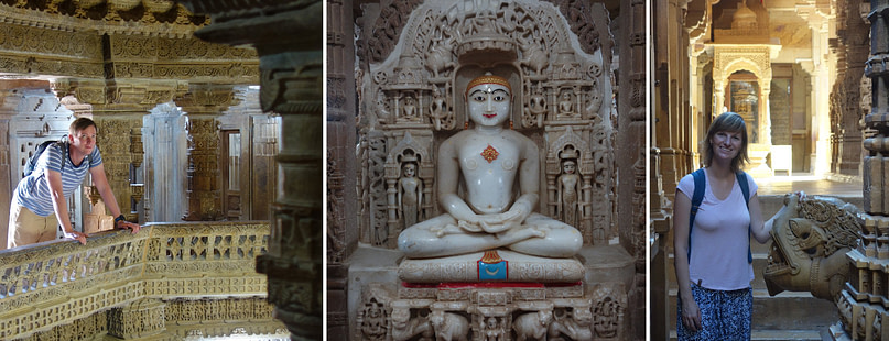 Jaisalmer Jain Tempel Collage