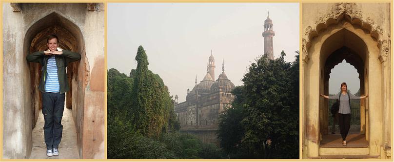 Lakhnau Bara Imambara Collage