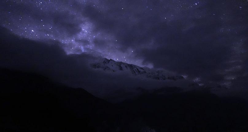 Annapurna Circuit Ngawal Sternenhimmel