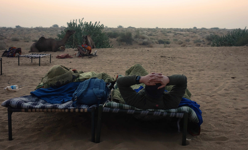 Jaisalmer Kamelsafari Betten