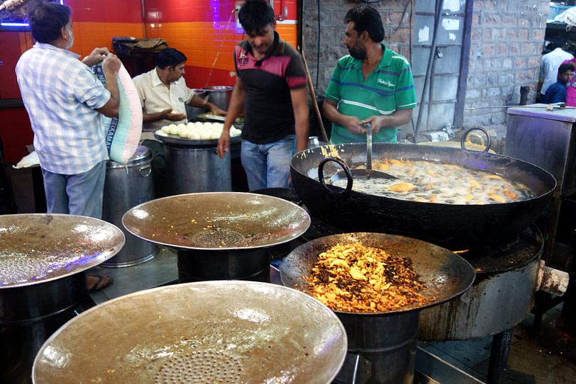 Indien Essen Streetfood