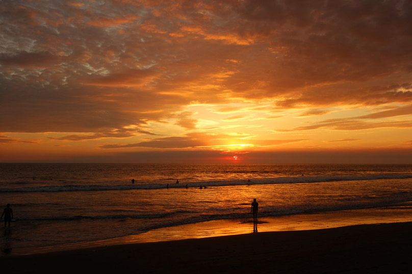 Jiquilillo Sonnenuntergang