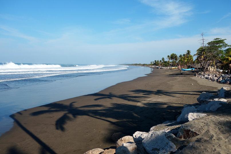 Jiquilillo Strand