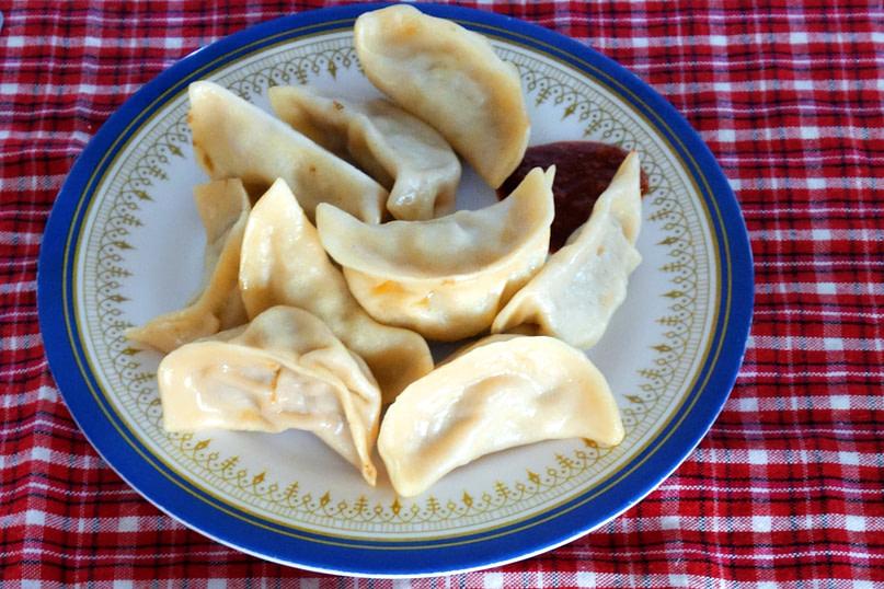 Nepal Essen Momos