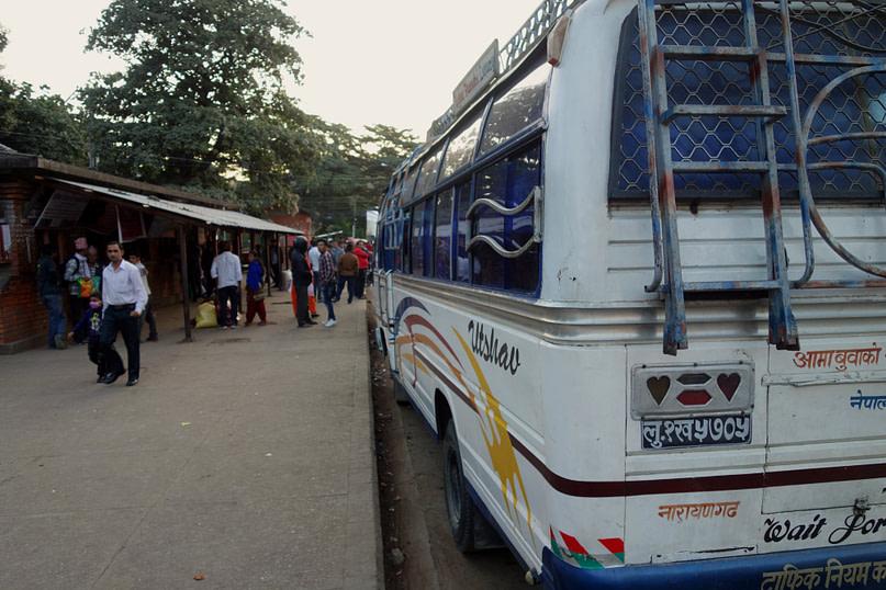 Nepal Transport Local Bus