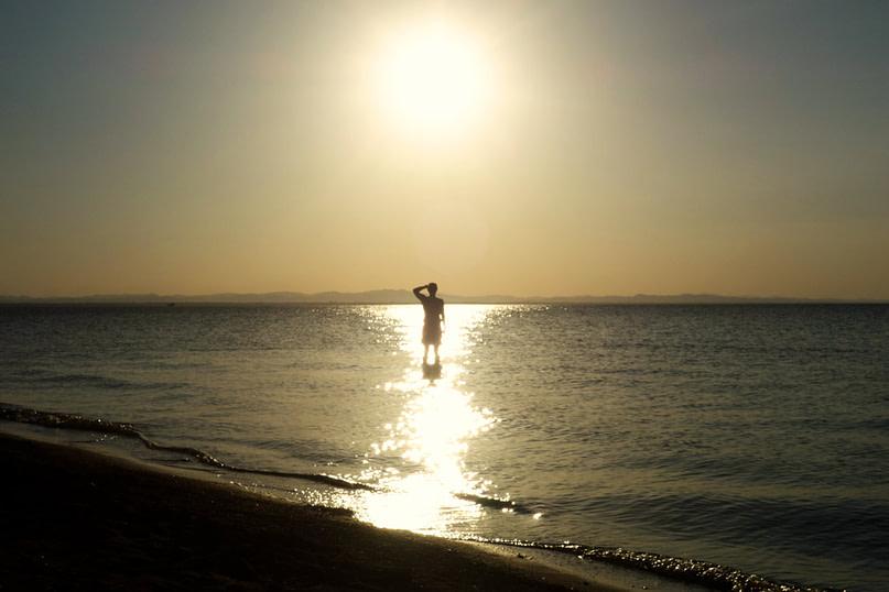 Ometepe Sonnenuntergang Meer Matthias
