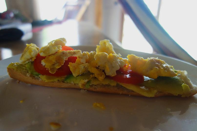 Playa Maderas Sandwich