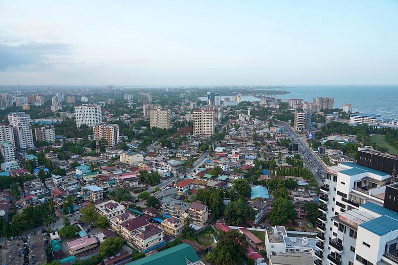 Daressalam Blick auf die Stadt