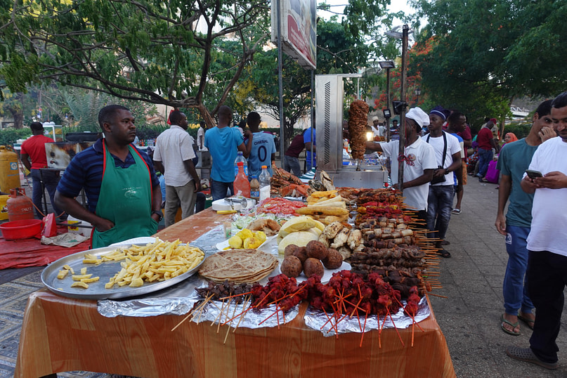 Forodhani Park Streetfood